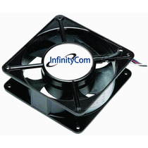Ventilador Cooler Ventoinha 120x120x38 110v 220v C/ Grade