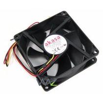 Fan Cooler Para Gabinete 8 Cm 80mm 80x80x25mm C/ Parafusos