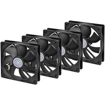 Kit 4 Cooler Gabinete Ventoinha Fan 120x120x25 (120mm 12cm)