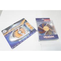 Kit 2 Cooler Sonic Fan 80x80mm + Ultraquiet Silencio 12x12