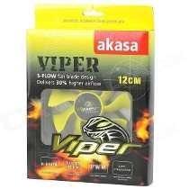 Cooler Para Gabinete 120x120x25 Viper Akasa 12cm