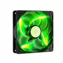 Cooler Fan 120mm Gabinete E Fonte Com Ventoinha Pc Led Verde