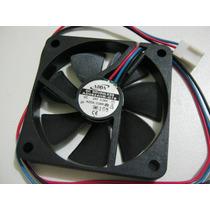 Micro Ventilador 60x60x10mm Fan Cooler 24v Rolamentado Ball