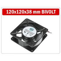 Cooler Ventuinha Bivolt 120x120x38 Mm