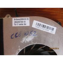 Cooler Notebook Cce W52 Bi-sonic-28g255100-10 + Dissipador