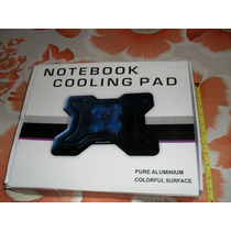 Cooler Notebook Cooling Pad ! ! ! Novo ! !pure Aluminium ! !