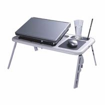 Mesa Dobrável Para Notebook C Cooler, Retrátil, Computador