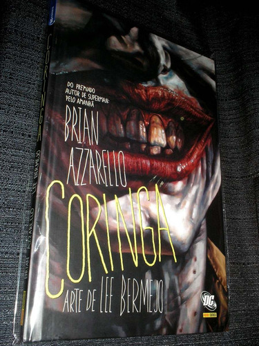 Coringa - Brian Azzarello - Capa Dura - Heroishq