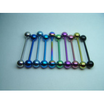 Piercing Barbel (língua) Titanium