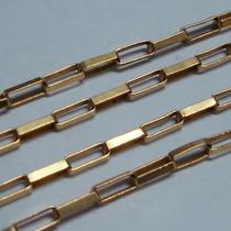 Grande Corrente Modelo Cartier Ouro 18k750 Cr35