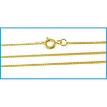 Nicaya Corrente Grumet Em Ouro 18k-750