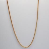 Corrente P/ Berloques Charms Em Bronze Banhado Ouro Amarelo