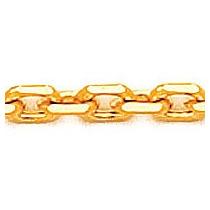 Corrente De Ouro Amarelo 18k Cartier Pequena 50 Cm / 2.0 Mm