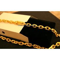 Cordão Banhado A Ouro 18k - Feicho De Gaveta