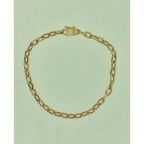 Pulseira Cartier Oca Em Ouro 18k 0.750 Com 9,0 Gramas