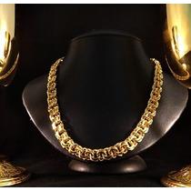 Corrente Em Ouro 18k 750 Elo Friso Italiano 150 Gramas Luxo