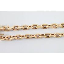 Cordão Modelo Cartier ( Cadeado) Maciço. Em Ouro 18 Kl 750.