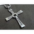 Colar Cruz Crucifixo Toretto Velozes E Furiosos