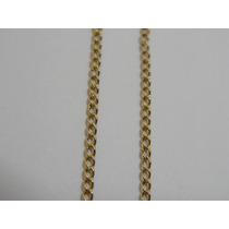 Cordão / Corrente De Ouro 18k Maciço - Malha Grumet - Lindo
