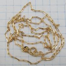 2189 Corrente Cartier Longa 60 Cm De Ouro 18k 750 W