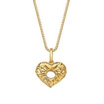 Gargantilha Ouro Com Pingente Coração 18k (750)