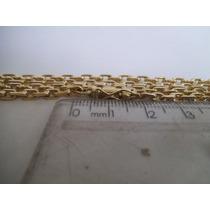 Corrente Ouro Cartier 18k 0750 60cm 30 Gramas Fecho Canhão