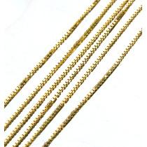 Corrente Elo Veneziano 40cm Ouro Italiano Frete Grátis J9446