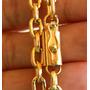 Cordão Banhado A Ouro 60cm + Pulseira