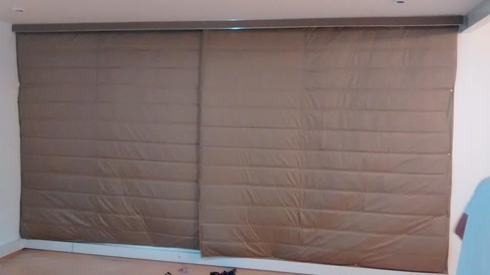 Cortina anti ruido completa acustica blackout e termica - Tela termica para cortinas ...