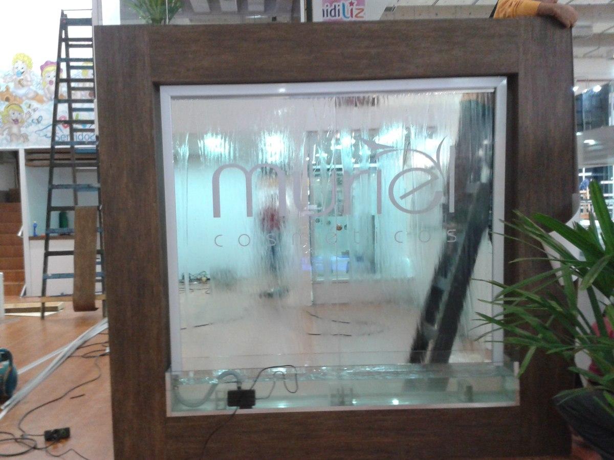 Cortina Espelho Dagua Com Moldura Madeira Forrada Em12 Vezes R$ 2  #4C767F 1200x900