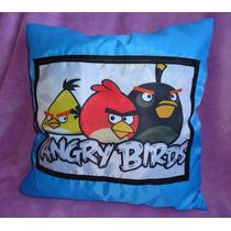 Almofada Angry Birds Peppa George Monster High Varios Temas