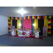 Kit Cortinas Decorativas Para Festas 2 M X 6 M