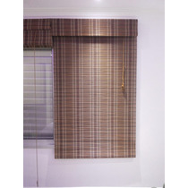 Cortina Persiana Roman Shade Hawai Bambu 100 X 220 Cm Exotic