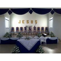 Cor/de Igreja Cida Chagas Sob Medida 6x3 De Altura
