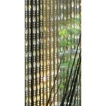 Cortina De Miçanga Disco Transparente Com Brilho Furta Cor