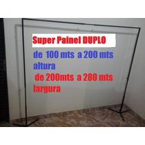 Suporte Painel De Festa,banner,cortina Duplo 200x280