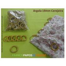 Argola De Plástico Para Cortinas Varão Argolas Abs 100 Unid