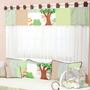 Cortina Para Quarto De Bebê Menino Coleção Pega Pega 7pç Hb
