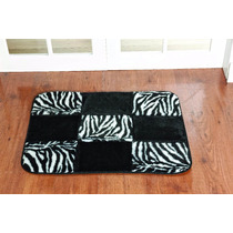 Tapete Patchwork Para Quarto E Sala De Zebra 0,68cm X 0,48