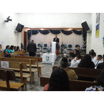 Cort/de Igreja E Sala Cida Chagas Sob Medida 6,00 X 4,00 !!!