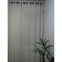 Ilhos,argola Plastico,encaixe Click Cor Branco P/cortina.6cm