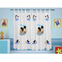 Cortina Mickey Baby Disney Infantil Personalizada Com Nome