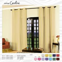 Cortina Caroline Para Sala E Quarto 2,70 A X 2,80 L