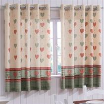 Cortina Cozinha Bella Janela 200x120 Cm Spazio Sweet Home