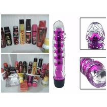 Kit Sexshop 40 Itens + Anel Peniano C/vibro + Pênis Vibrador