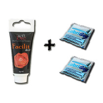 Anestésico Anal 4x1 Facilit Gel Sex Shop Lubrificante Erotic