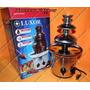 Fonte Cascata De Chocolate Torre Com 3 Andares - 110v