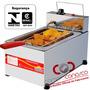 Fritadeira Em Aço Inox Elétrica Pr-10e De 5 Litros Progás