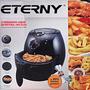 Fritadeira Air Fryer Elétrica Sem Óleo 110v Preta
