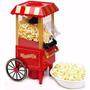 Pipoqueira Elétrica Carrinho Popcorn 1200watts Exclusiva